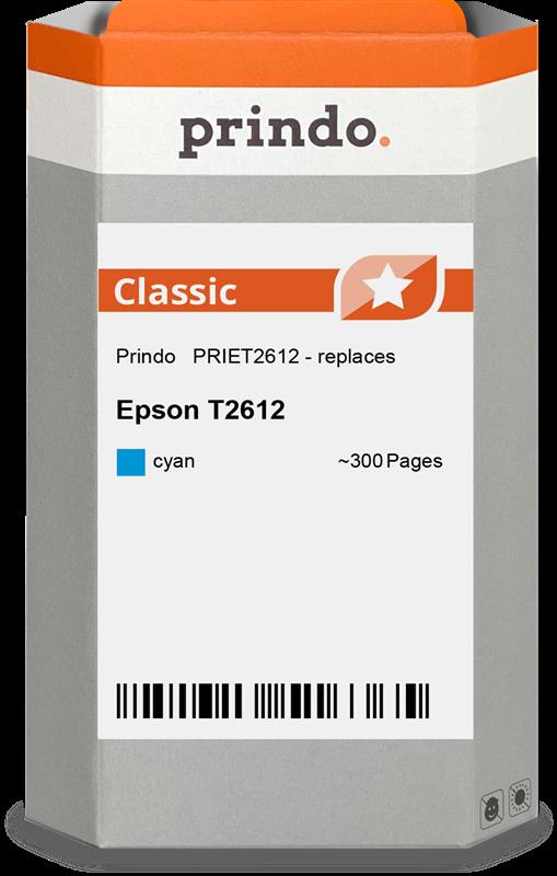 Cartucho de tinta Prindo PRIET2612