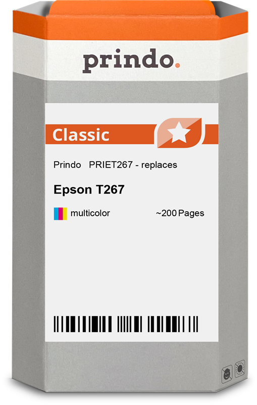 inktpatroon Prindo PRIET267
