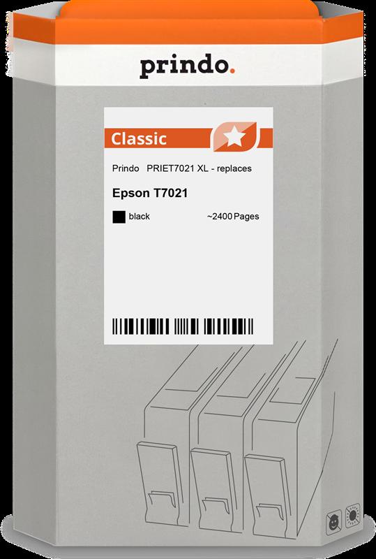 Cartucho de tinta Prindo PRIET7021