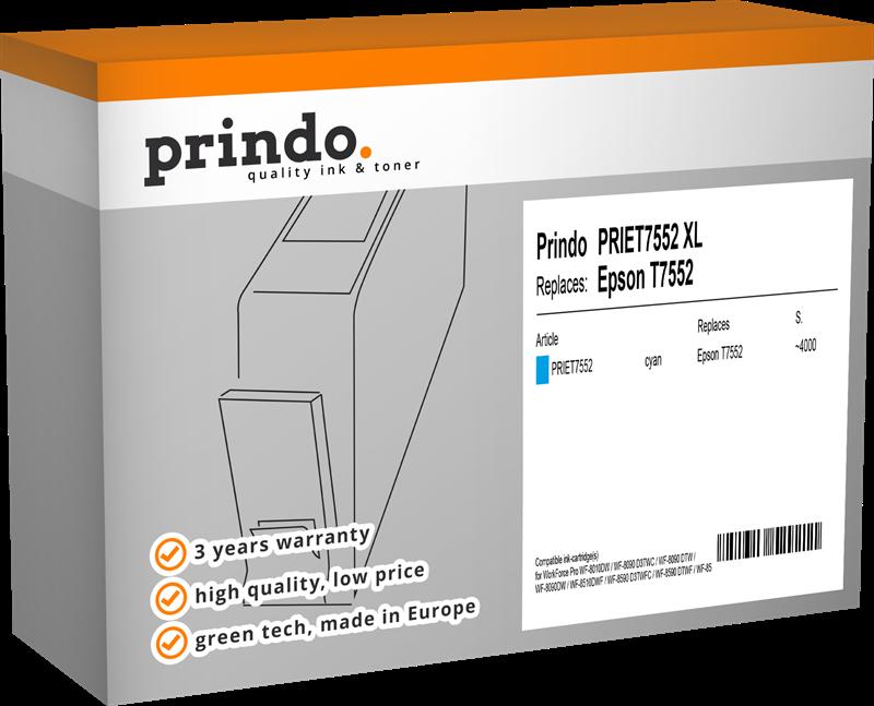 Cartouche d'encre Prindo PRIET7552