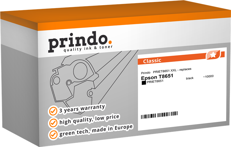 inktpatroon Prindo PRIET8651