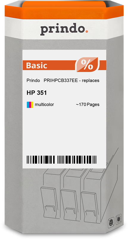 ink cartridge Prindo PRIHPCB337EE