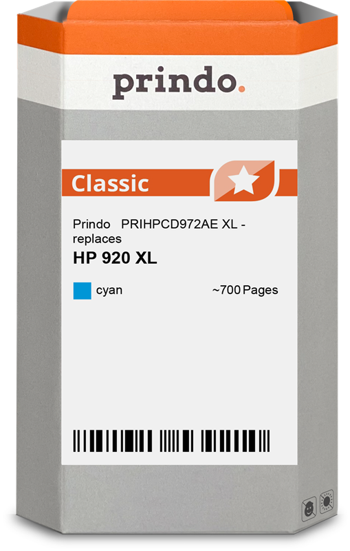 ink cartridge Prindo PRIHPCD972AE