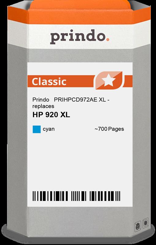 inktpatroon Prindo PRIHPCD972AE