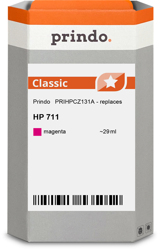 inktpatroon Prindo PRIHPCZ131A