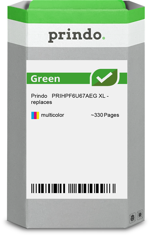Cartouche d'encre Prindo PRIHPF6U67AEG