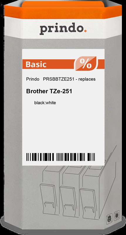 Schriftband Prindo PRSBBTZE251