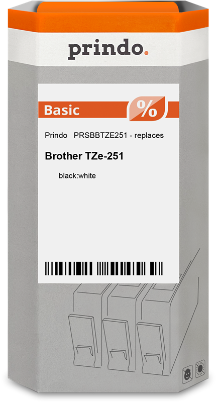 taśma Prindo PRSBBTZE251