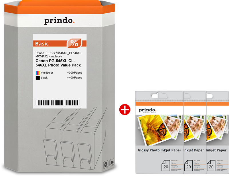 Value Pack Prindo PRSCPG545XL_CL546XL MCVP