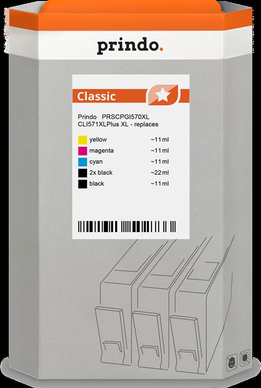Multipack Prindo PRSCPGI570XL CLI571XLPlus