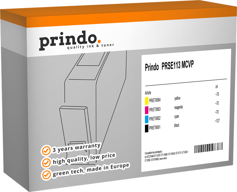 Multipack Prindo PRSE113 MCVP