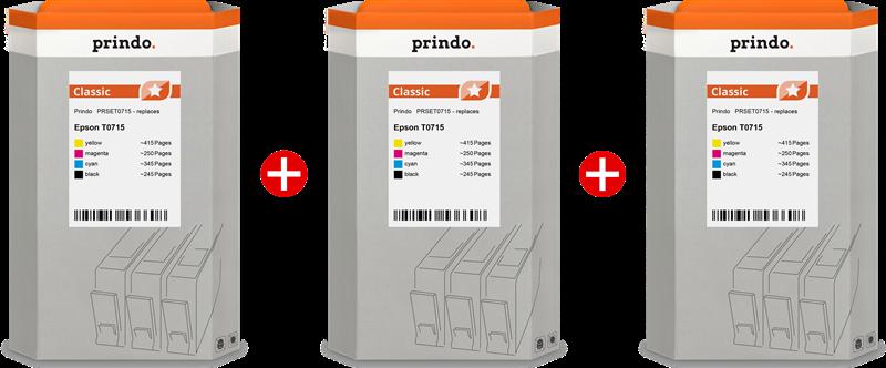 Multipack Prindo PRSET0715 3-Pack