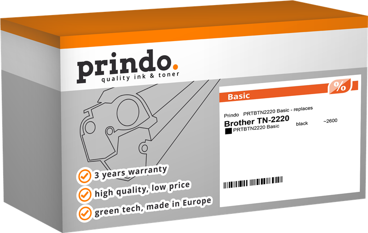 Toner Prindo PRTBTN2220 Basic