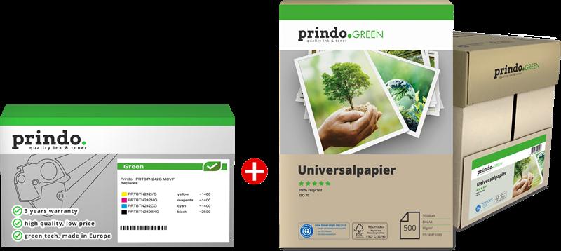 Value Pack Prindo PRTBTN242G MCVP