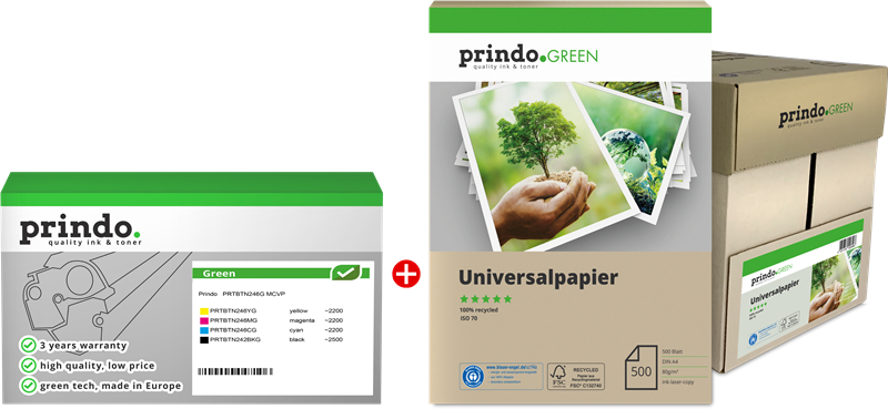 Value Pack Prindo PRTBTN246G MCVP