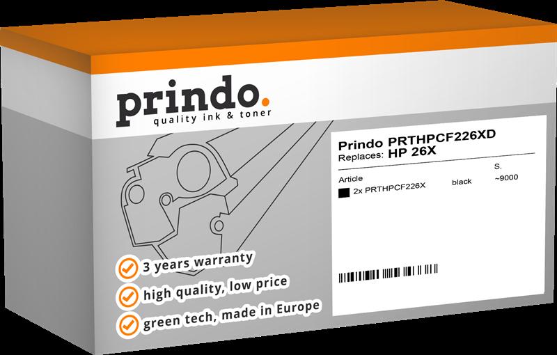 multipack Prindo PRTHPCF226XD MCVP