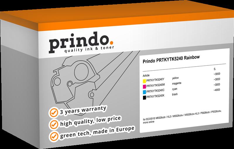 Value Pack Prindo PRTKYTK5240 Rainbow
