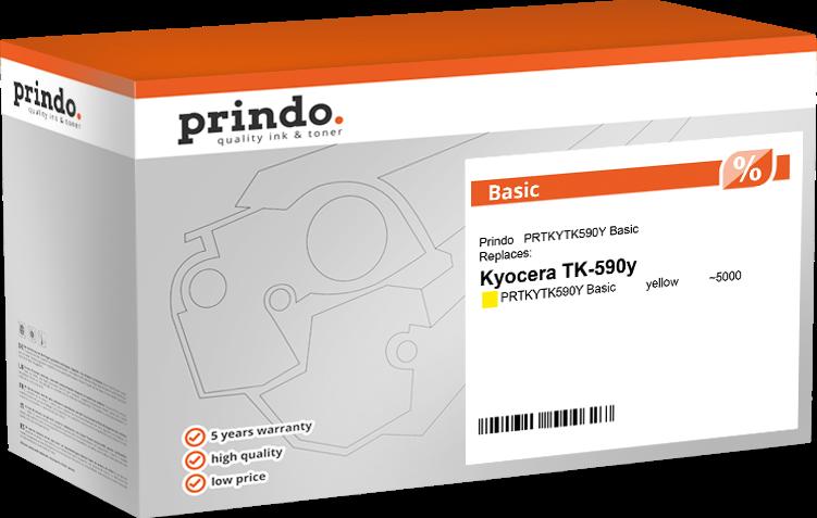 toner Prindo PRTKYTK590Y Basic