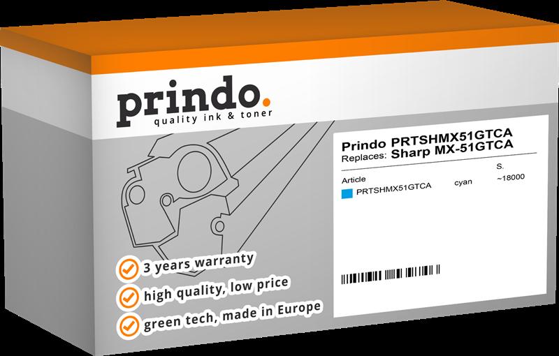 Toner Prindo PRTSHMX51GTCA