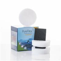 PureFlow 2x 3 Filterdisks inkl. 2x Aktivkohlefilter (2EGOA)