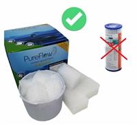 PureFlow Ersatzcubes für BESTWAY Kartuschen (35CubBE)
