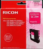 Ricoh cartuccia gelo 405542 / GC-21M magenta