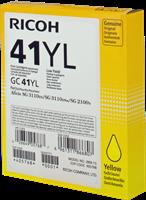 Ricoh gel cartridge GC41YL yellow