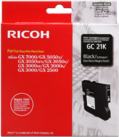 Ricoh Gel Patrone GC-21K Schwarz