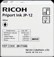 Cartucho de tinta Ricoh JP12