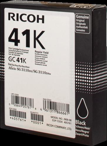 Ricoh 405761 GC 41 bk