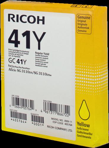 Ricoh 405764 GC 41 y