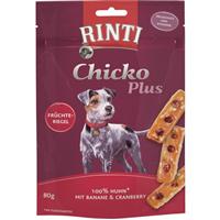 Rinti Chicko Plus Früchteriegel mit Huhn - 80 g (9105883)