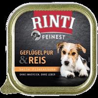Rinti Feinest - 150 g - Geflügel Pur & Reis (92133)