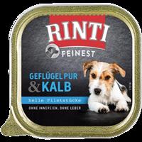 Rinti Feinest - 150 g - Geflügel Pur & Kalb (92134)