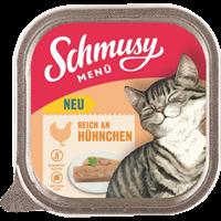 Schmusy Menü - 100 g - mit Hühnchen (71001)