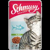 Schmusy Ragout in Jelly - 100 g - mit Thunfisch (71072)