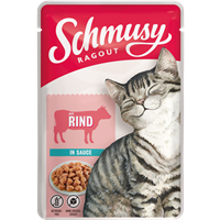 Schmusy Ragout in Sauce - 100 g - mit Rind (71081)