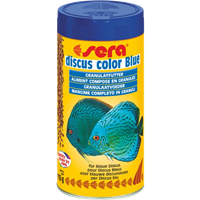 Sera Discus Color Blue