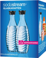 Sodastream Duo-Pack / 2x glass carafe 0,6 L