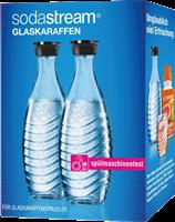 Sodastream Duo-Pack / 2x glass carafe 0,6 L clear