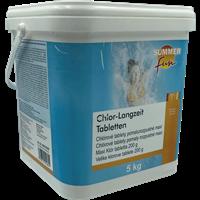 Summer Fun Désinfection Chlore comprimés longue durée - 5 kg (0505705SF)