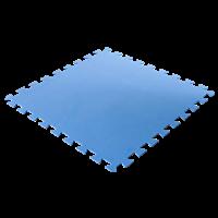 Summer Fun Bodenschutzmatten, blau, 500 x 500 x 4 mm (8 Stück im Set) (2510600)
