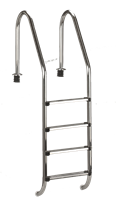 Summer Fun Tiefbeckenleiter Edelstahl für 150 cm tiefe Becken (502020050)