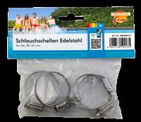 Summer Fun Schlauchschellen Edelstahl 4-er Set (509000213)