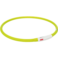 TRIXIE Flash Leuchtring USB Silikon - grün (12648)