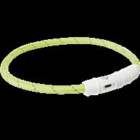 TRIXIE Safer Life USB Flash Leuchtring - grün
