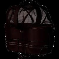 TRIXIE Fahrradkorb für breite Gepäckträger schwarz