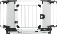 TRIXIE Universal-Heckgitter - 94–-114 × 69 × 53 cm - hellgrau/silber (13201)