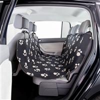 Trixie Auto-Schondecke aus Fleece und Nylon - schwarz/beige