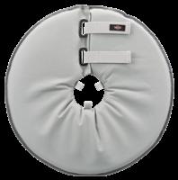TRIXIE Schutzkragen Polyester/Schaumstoff grau - M: 38 bis 42 cm / 21,5 cm (19424)